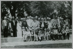 Members at Carpenter's Hall 1925
