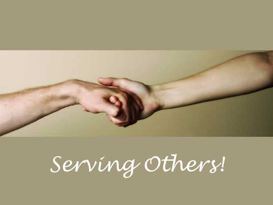 a case for serving others Serving others for god's glory is an amazing privilege this article is about serving others and the countless blessings you receive by doing it.