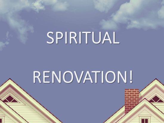 Spiritual Renovation