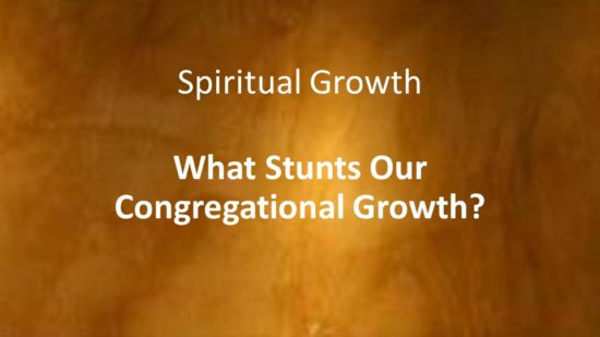 what-stunts-our-congregational-growth
