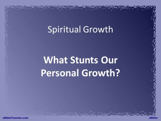 what-stunts-our-personal-growth