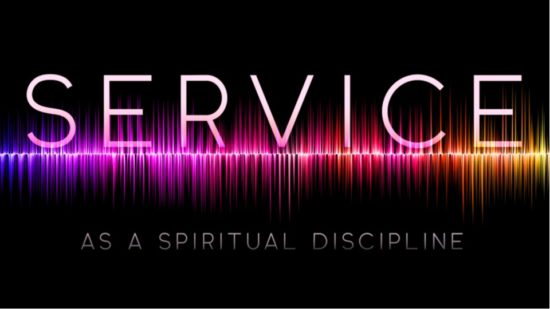 Audio waves and words Service as a spiritual discipling