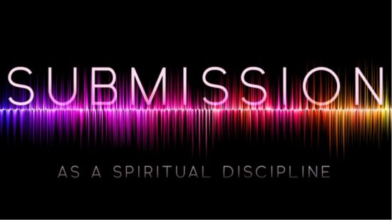 Sound waves with the word Submission