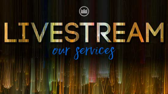 Graphic for Livestreaming our services