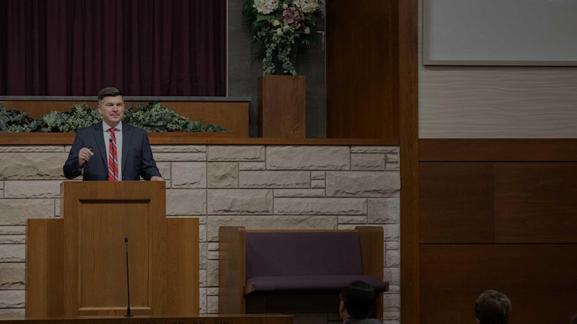 David Rogers Preaching